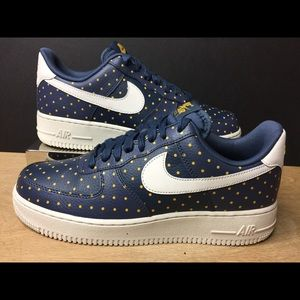 Nike Air Force 1 Low Polka Dots Thunder AT5019-400